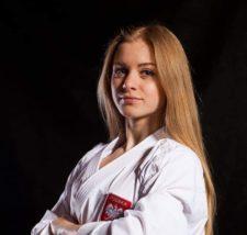 Mistrzyni świata w karate Dorota Banaszczyk