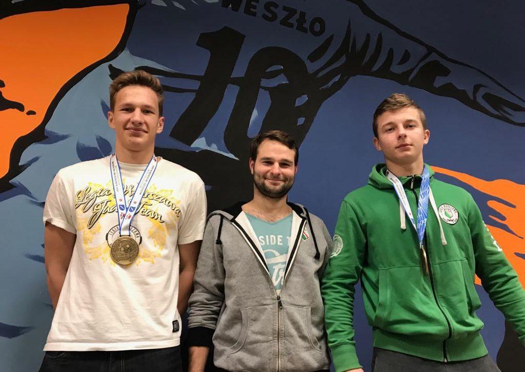 Młodzi judocy Legii Warszawa
