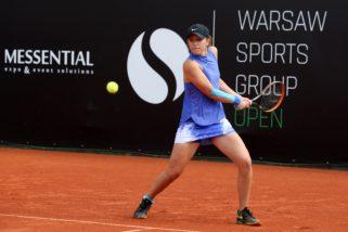 Iga Świątek w finale turnieju WTA!