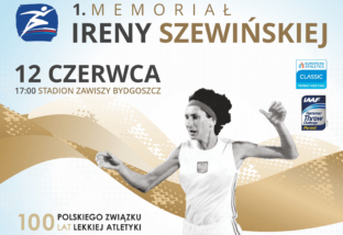 Memoriał Ireny Szewińskiej: 12 czerwca w Bydgoszczy