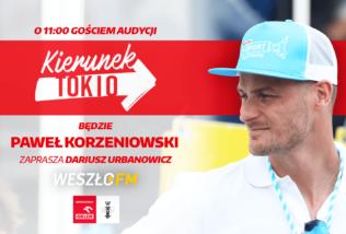 Audycja Kierunek Tokio #6: Paweł Korzeniowski