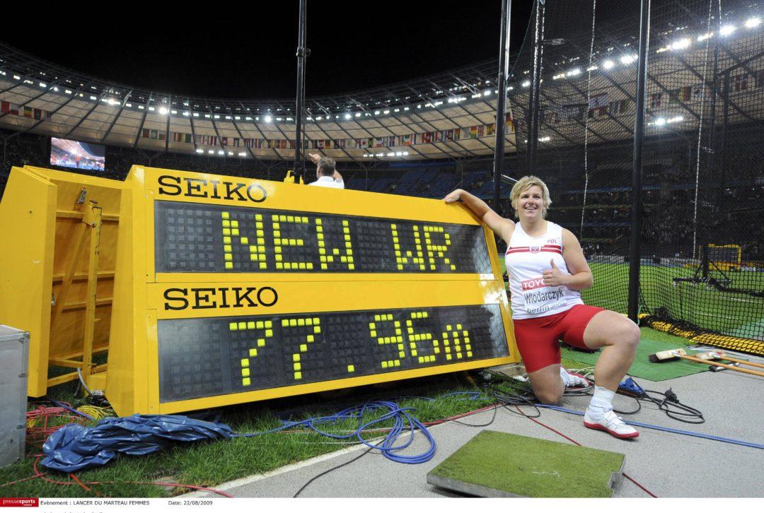 Dziesięć lat temu Anita Włodarczyk po raz pierwszy weszła na szczyt