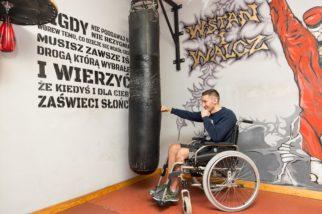 Mariusz Cendrowski podczas najtrudniejszej walki w życiu