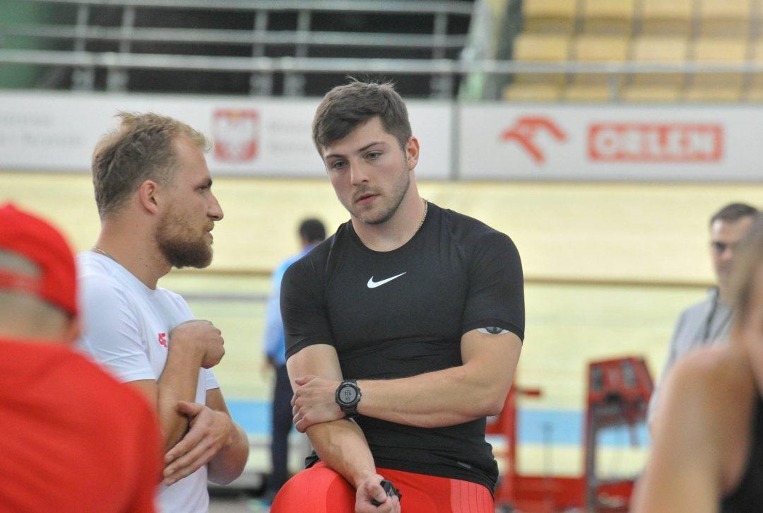Trener Igor Krymski przed ME torowców