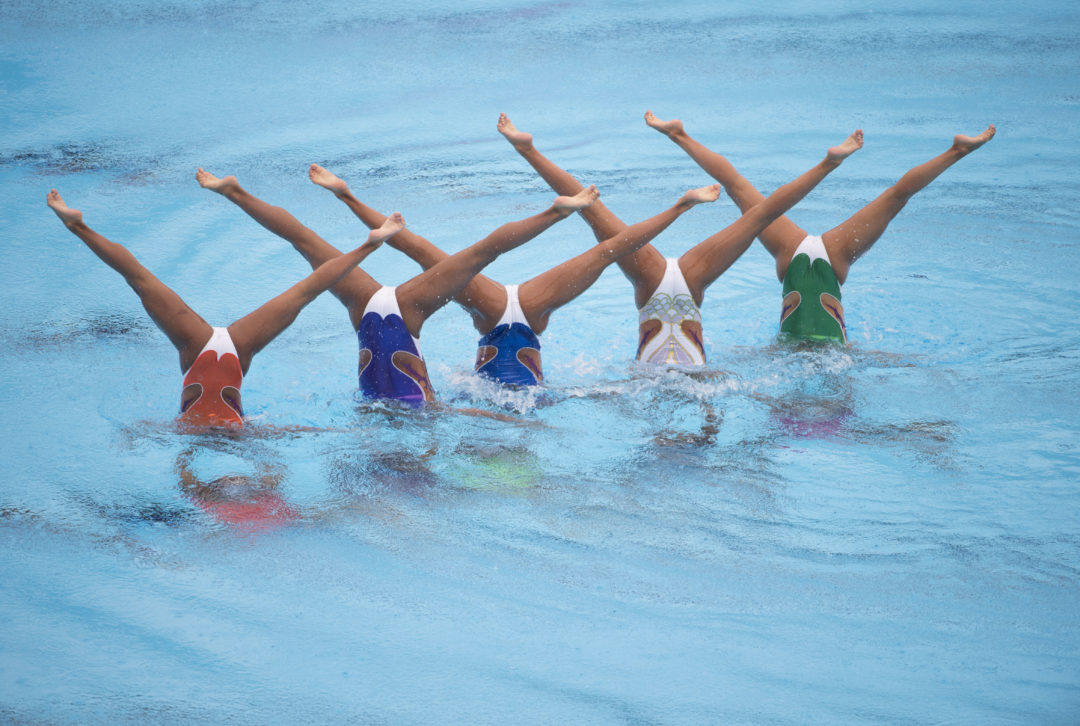 Unoszenie się na wodzie, czyli najdziwniejsze sporty olimpijskie