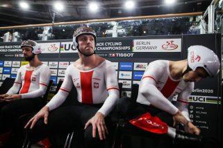 Torowe MŚ: sprinterzy bez medalu, ale z biletami do Tokio!