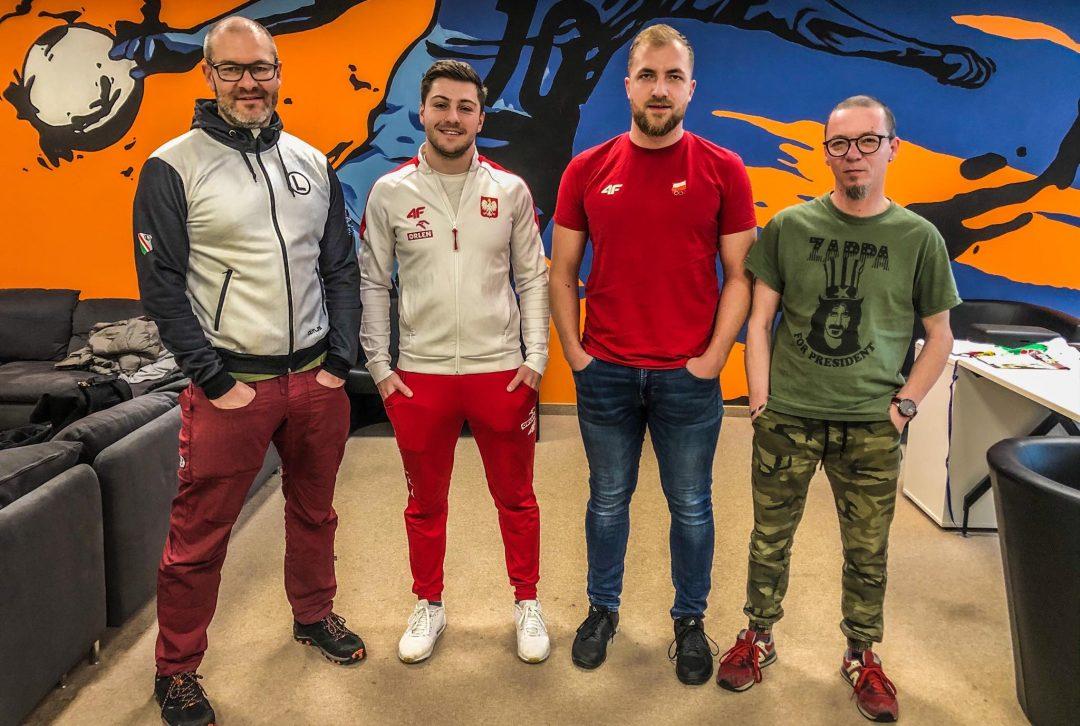 Olimpijska audycja Tur de Tur: Mateusz Rudyk i trener Igor Krymski przed torowymi MŚ
