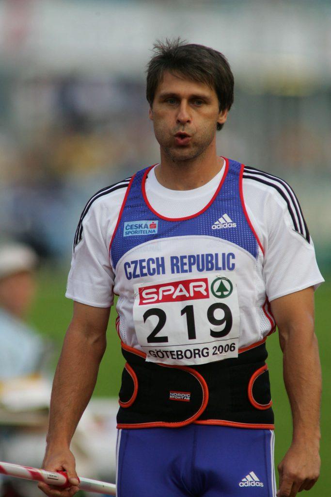 Jan Zelezny na mistrzostwach Europy 2006