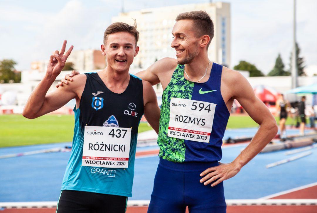 Sensacja! Rewelacja! 17-letni Różnicki mistrzem Polski na 800 m!