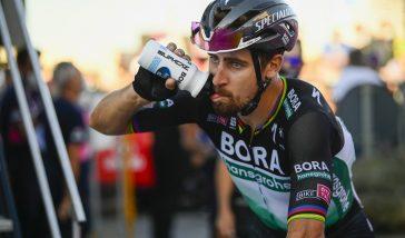 Etapowe zwycięstwo Sagana w zubożałym Giro d'Italia