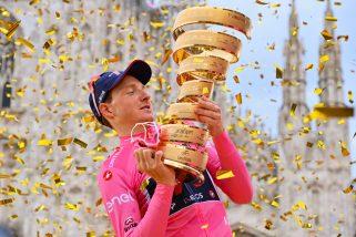 Od pływania w kanale La Manche do zwycięstwa w Giro. Droga Tao Geoghegana Harta