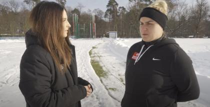 Joanna Fiodorow pokazuje jak rzucać młotem (wideo)