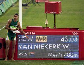 Czy Wayde van Niekerk w pogoni za złotem będzie musiał oglądać się za plecy?