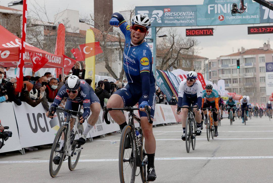 Mark Cavendish zwyciężył w drugim etapie Tour of Turkey