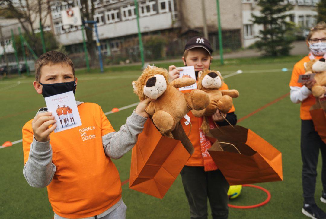 Olimpijska zabawa w Katowicach. Dzięki Pomarańczowej Sile dzieci poczuły smak igrzysk!
