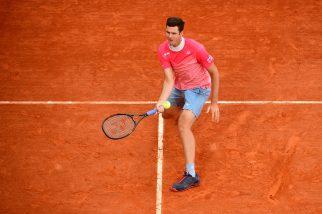Roland Garros. Hurkacz prowadził 2:0 w setach. Przegrał 2:3