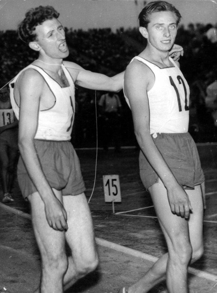 Zdzisław Krzyszkowiak i Kazimierz Zimny