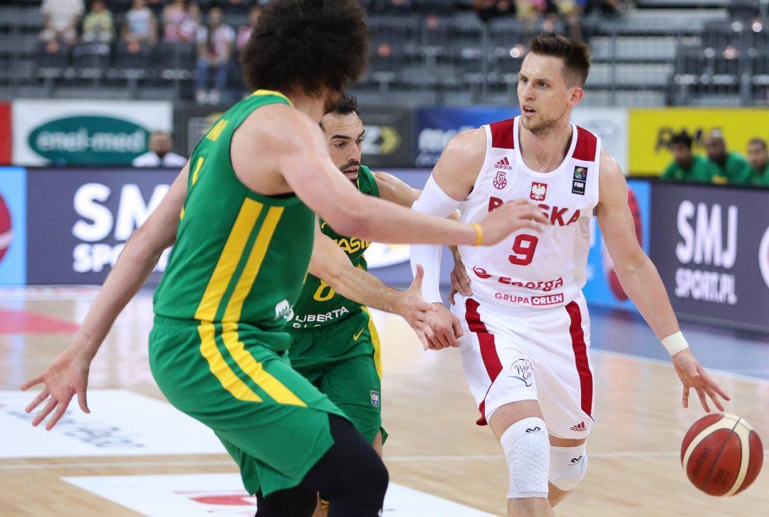 Bez zwycięstwa w sparingu. Osłabieni polscy koszykarze przegrali z Brazylią