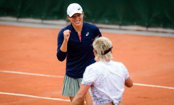 Iga Świątek w finale deblowego Roland Garros!