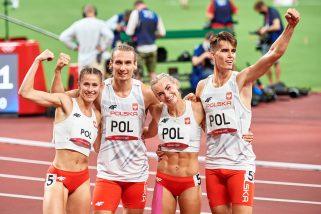 Mamy pierwsze złoto! Fenomenalny bieg sztafety mieszanej i rekord olimpijski!
