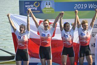 Mamy to! Czwórka podwójna kobiet ze srebrnym medalem!