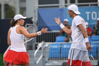 W tenisa jeszcze pogramy. Świątek i Kubot w ćwierćfinale miksta