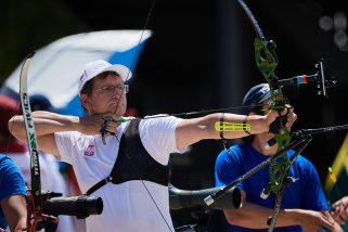Start olimpijski na urodziny. Sławomir Napłoszek, łucznik z banku