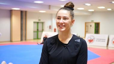 """""""W taekwondo nie ma bitki jak w MMA"""". Kierunek Tokio z Aleksandrą Kowalczuk"""