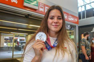Maria Andrejczyk wystawiła medal na licytację. Szczytny cel!