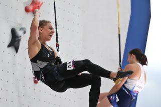 Aleksandra Mirosław z rekordem świata we wspinaczce, ale bez medalu