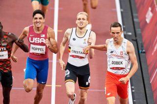 Patryk Dobek w finale biegu na 800 metrów!