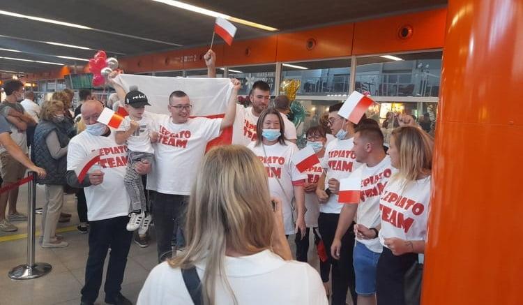 Kibice przywitali paraolimpijczyków w Warszawie!