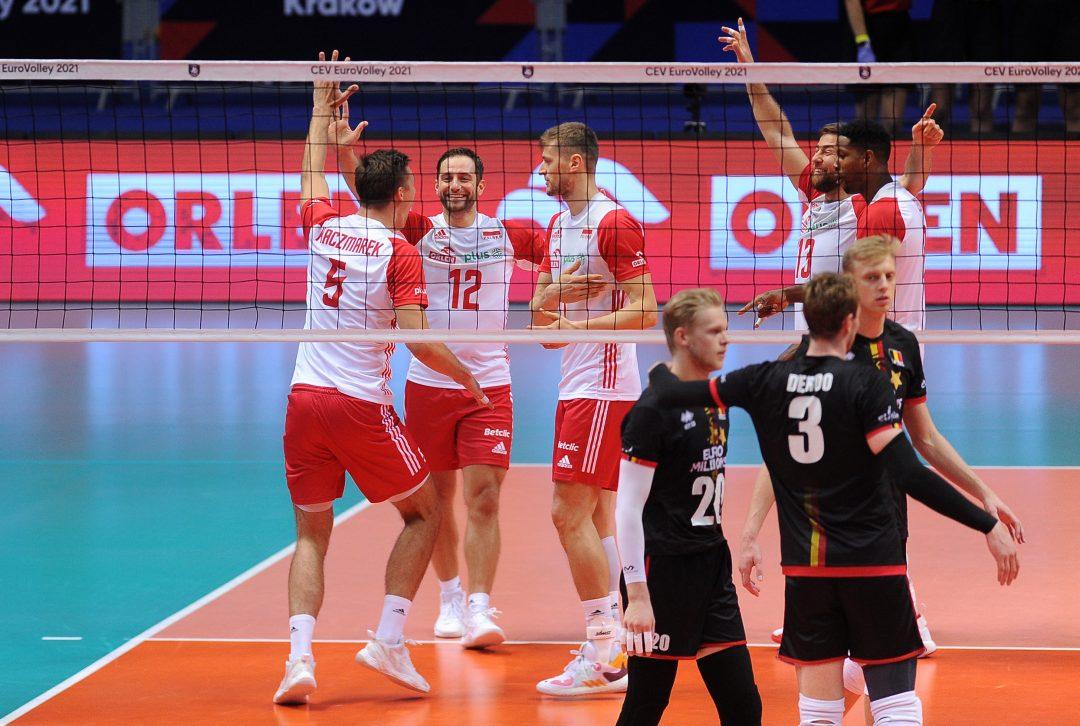 Blok, zagrywka i świetny Łukasz Kaczmarek – Polska-Belgia 3:0