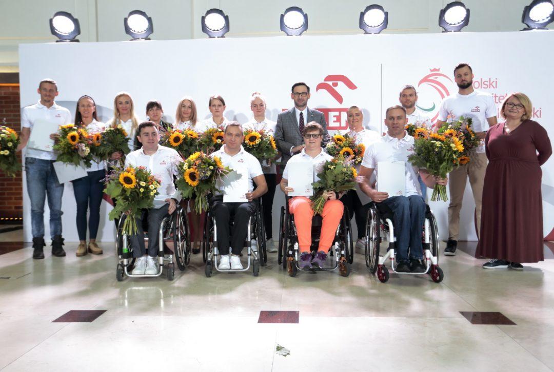 Paraolimpijczycy otrzymali podziękowania od PKN ORLEN